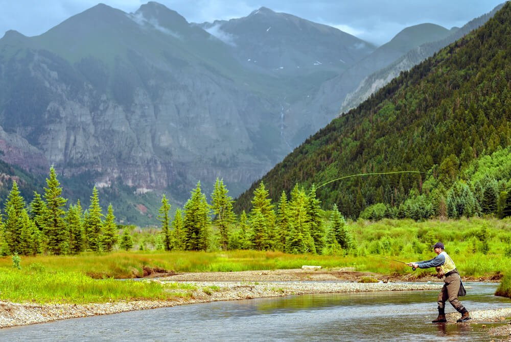 Gallery luxury lodging in telluride co for Telluride fly fishing