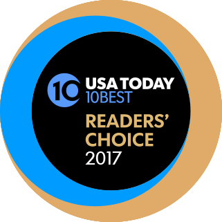 USA readers choice award Logo 2017