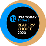 USA readers choice award Logo 2020