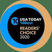 USA readers choice award Logo 2020